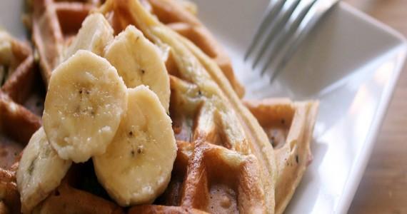 banana-waffles